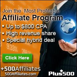 Plus500 Affiliate Program